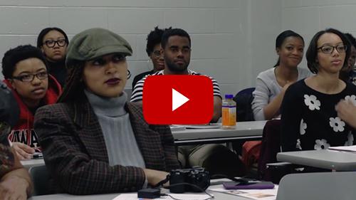 MK visits Howard University memoir class